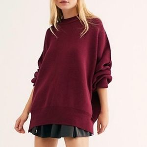 FREE PEOPLE NWT Easy Street Tunic Sweater Sz Small